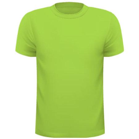 Funktions-Shirt Kinder in Lime von Oltees (Artnum: OT010K