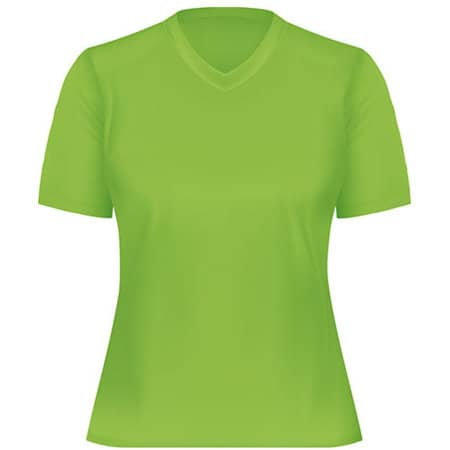 Funktions-Shirt Damen in Lime von Oltees (Artnum: OT050