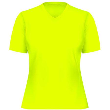 Funktions-Shirt Damen in Neon Yellow von Oltees (Artnum: OT050