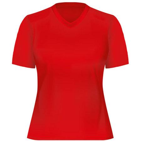 Funktions-Shirt Damen in Red von Oltees (Artnum: OT050