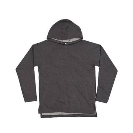 One Hoodie in Charcoal Grey Melange von Mantis (Artnum: P132