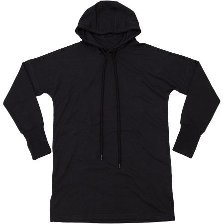 Women`s Hoodie Dress in Black von Mantis (Artnum: P142