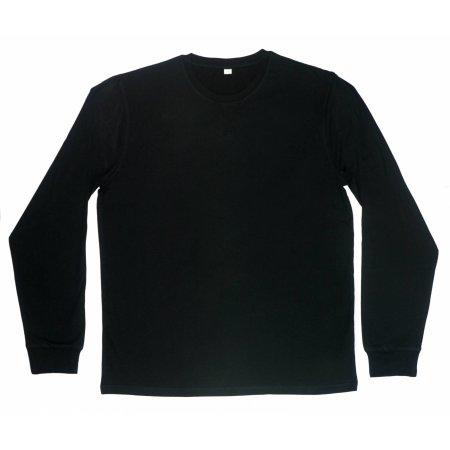 Men`s Superstar Long Sleeve T in Black von Mantis (Artnum: P86