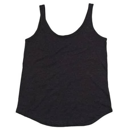 Women`s Loose Fit Vest in Charcoal Grey Melange von Mantis (Artnum: P92