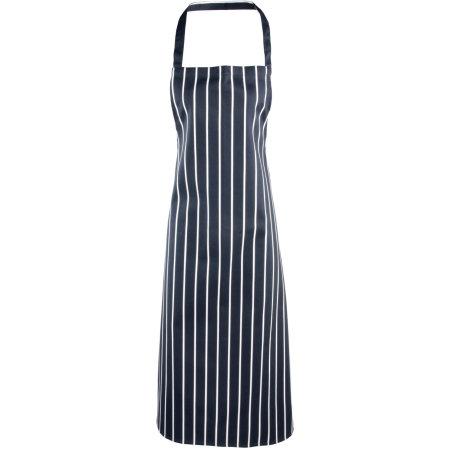 Striped Bib Apron von Premier Workwear (Artnum: PW110
