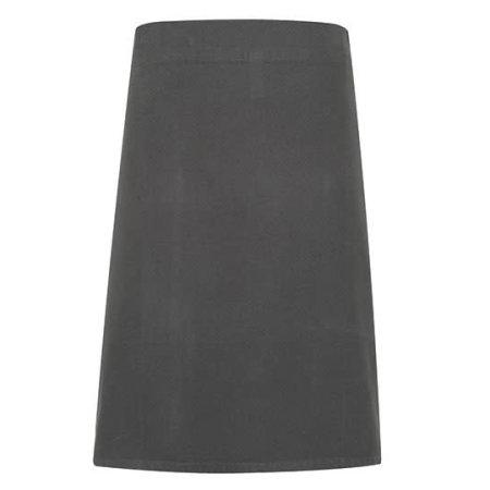 Calibre Heavy Cotton Canvas Waist Apron in Dark Grey von Premier Workwear (Artnum: PW131
