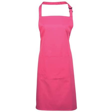 Colours Bib Apron With Pocket von Premier Workwear (Artnum: PW154