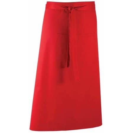 Barschürze Colours in Red (ca. Pantone 200) von Premier Workwear (Artnum: PW158