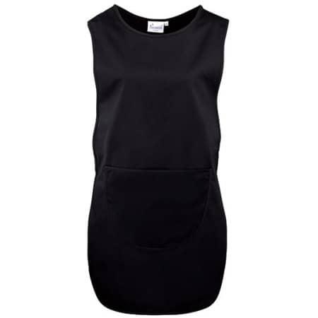 Women`s Long Pocket Tabard in Black von Premier Workwear (Artnum: PW172