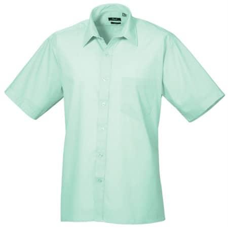 Poplin Short Sleeve Shirt (Herrenhemd/Kurzarm) von Premier Workwear (Artnum: PW202