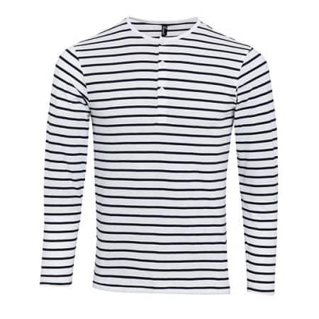 Mens Long-John Roll Sleeve Tee von Premier Workwear (Artnum: PW218