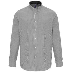 Mens Cotton Rich Oxford Stripes Shirt