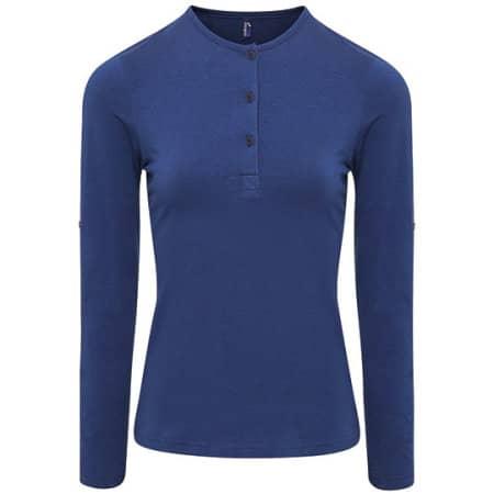 Womens Long-John Roll Sleeve Tee von Premier Workwear (Artnum: PW318