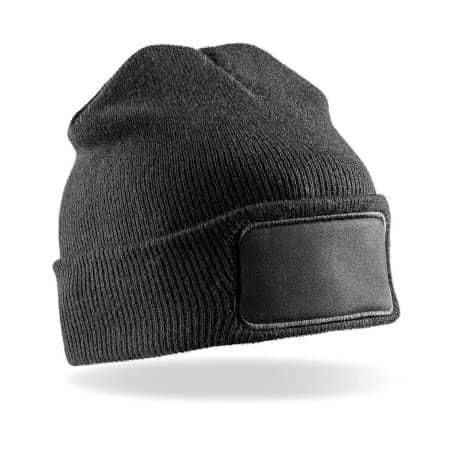 Double Knit Printers Beanie von Result Winter Essentials (Artnum: RC027