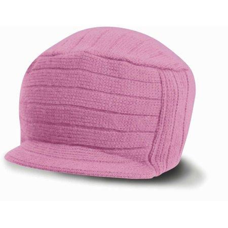 Esco Urban Knitted Hat in Pink von Result Winter Essentials (Artnum: RC61