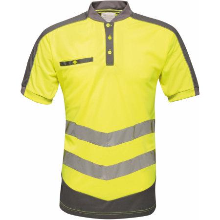Hi-Vis Polo in Yellow Grey von Regatta Tactical (Artnum: RG176