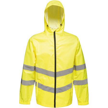 Hi-Vis Pro Packaway Jacket in Yellow von Regatta (Artnum: RG497