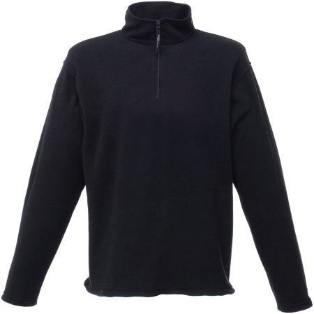 Micro Zip Neck in Black von Regatta (Artnum: RG549