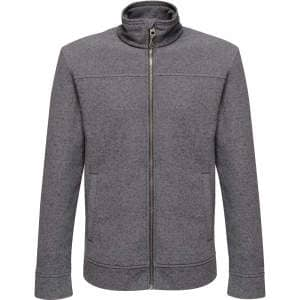 Parkline Full Zip Mini Stripe Fleece