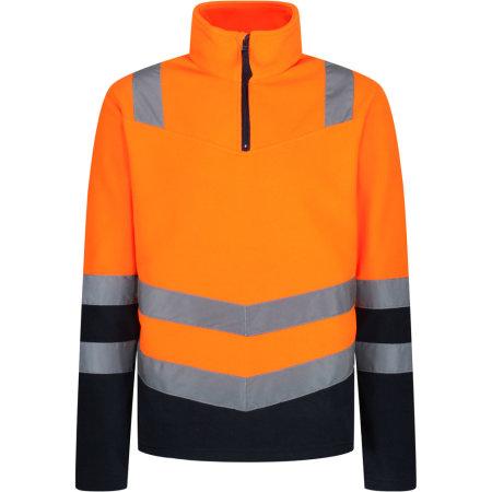 Pro Hi-Vis H/Z Fleece Top von Regatta High Visibility (Artnum: RG6600