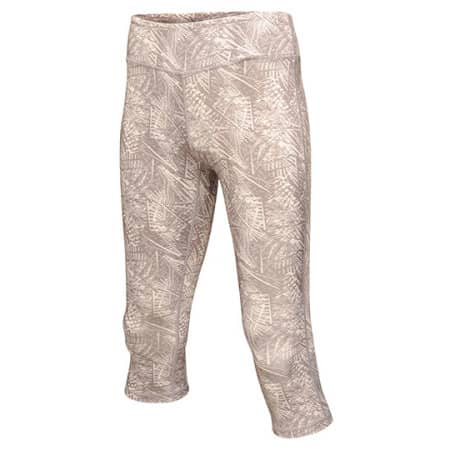 Women´s Pincha 3/4 Printed Legging von Regatta Activewear (Artnum: RGA3860