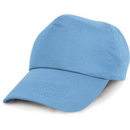 Cotton Cap in Sky von Result Headwear (Artnum: RH05