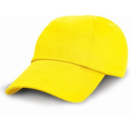 Junior Low Profile Cotton Cap von Result Headwear (Artnum: RH18J