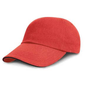 Junior Heavy Brushed Cotton Cap Low Profile