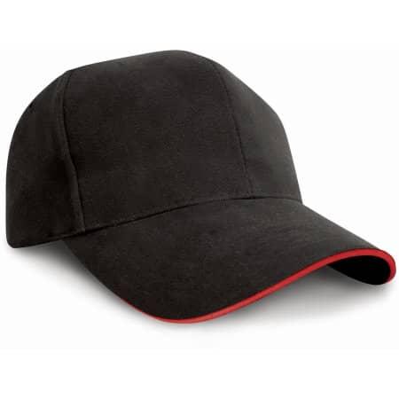 Pro-Style Heavy-Cotton Cap von Result Headwear (Artnum: RH25P