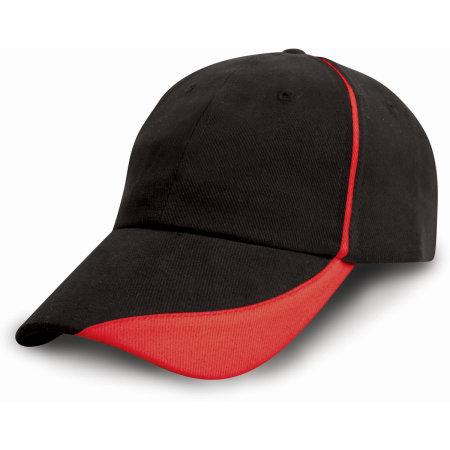Heavy Brushed Cotton Cap von Result Headwear (Artnum: RH51