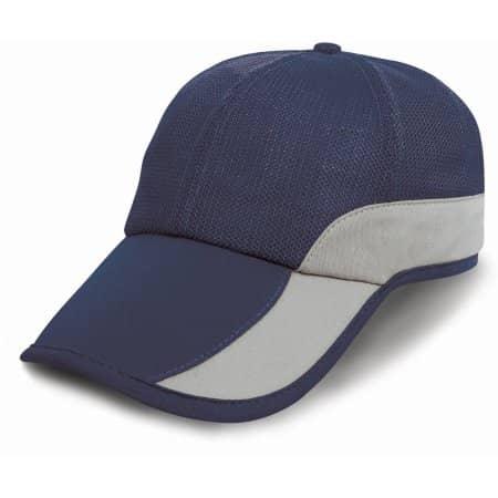 Addi Mesh Cap Under-Peak Pocket von Result Headwear (Artnum: RH57
