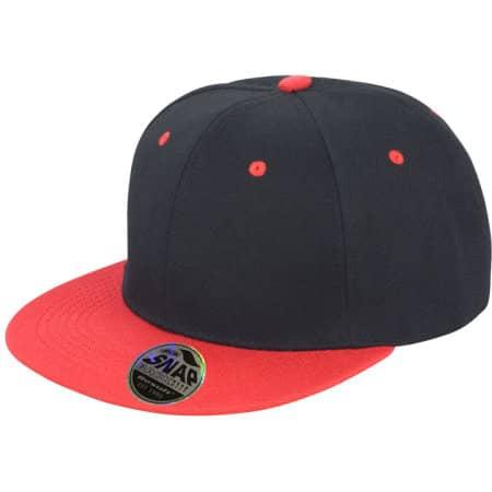 Bronx Dual Colour Cap von Result Headwear (Artnum: RH82