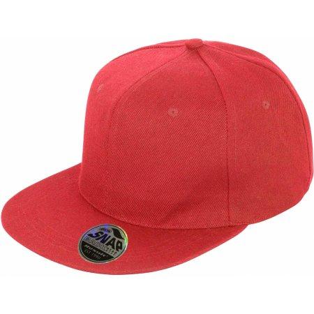 Bronx Cap in Red von Result Headwear (Artnum: RH83