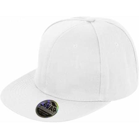 Bronx Cap in White von Result Headwear (Artnum: RH83