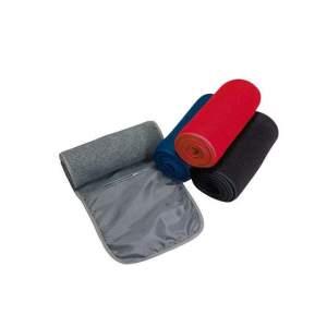 Zip-Pocket Fleece Scarf