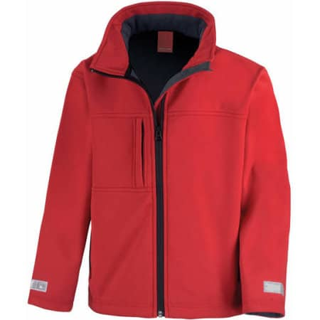Junior Classic Soft Shell Jacket von Result (Artnum: RT121J
