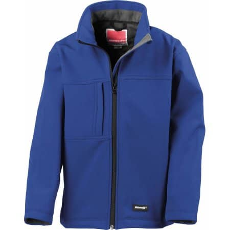 Youth Classic Soft Shell Jacket von Result (Artnum: RT121Y