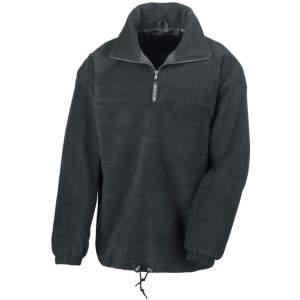 1/4 Zip Fully Lined Fleece Top