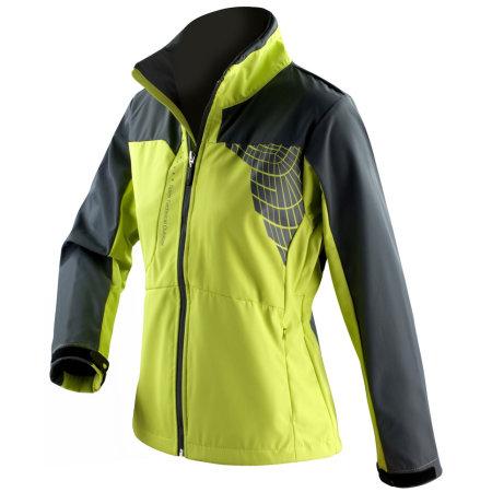 Ladies` 3 Layer Softshell Jacket in Neon Lime|Grey von SPIRO (Artnum: RT175F