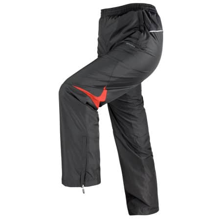 Micro Lite Pant in Black|Red von SPIRO (Artnum: RT179