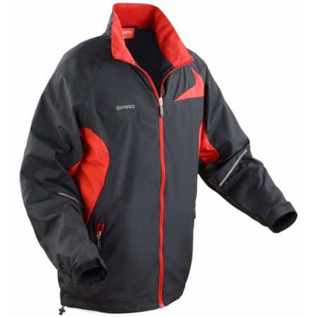 Micro Lite Jacket in Black|Red von SPIRO (Artnum: RT180