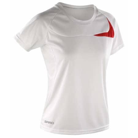 Ladies` Dash Training Shirt von SPIRO (Artnum: RT182F