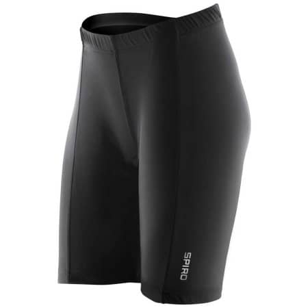 Ladies` Padded Bikewear Shorts von SPIRO (Artnum: RT187F
