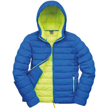 Men`s Snow Bird Padded Jacket in Ocean Blue Lime von Result (Artnum: RT194M