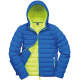 Thumbnail Jacken in Ocean Blue|Lime: Men`s Snow Bird Padded Jacket RT194M von Result