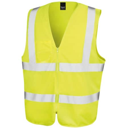 Core Zip Safety Tabard von Result Core (Artnum: RT202