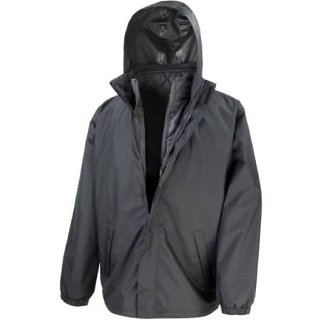 3-in-1 Jacket with Quilted Bodywarmer von Result Core (Artnum: RT215X