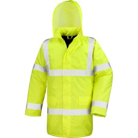 Hi Viz Motorway Coat von Result Core (Artnum: RT218X