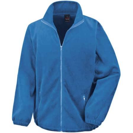 Fashion Fit Outdoor Fleece in Electric Blue von Result Core (Artnum: RT220X