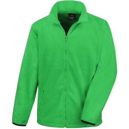 Fashion Fit Outdoor Fleece in Vivid Green von Result Core (Artnum: RT220X